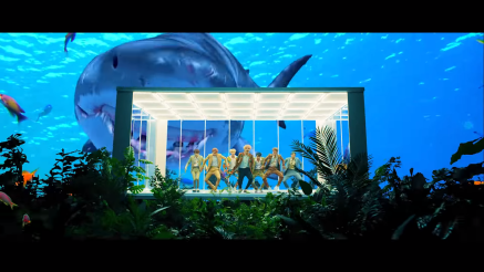 Idol BTS Shark