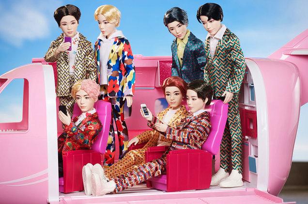 Let's Revisit the BTS Mattel Dolls – Academic Exiles