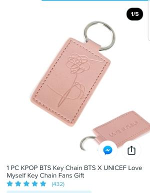 UNICEF Keychain